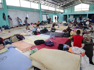 African migrants stuck in Central America