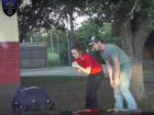 Dash cam video shows cop saving boy's life