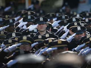 Poll shows respect for police is on the rise