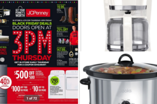 JCPenney Black Friday ad has $4.99 slow cooker