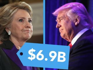 We spent $6.9 billion on this election