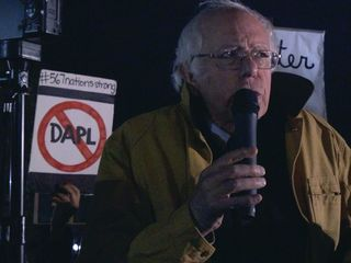 Sanders to Obama: Make Standing Rock a monument