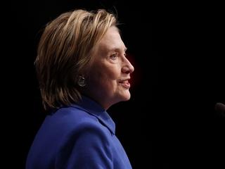 Clinton speaks at Children's Defense Fund event