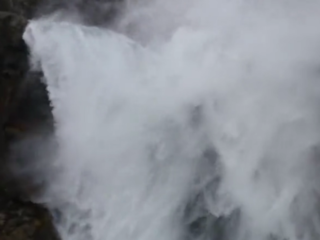 WATCH: Wind blows waterfall in Croatia upwards