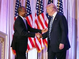 Carson tapped for HUD secretary position