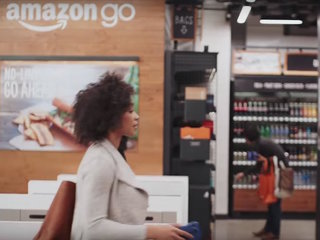 Amazon opens grocery store with no lines