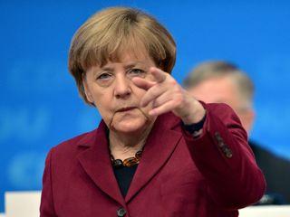 Merkel likely to prevail in German elections