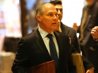 Trump's EPA pick has ties to big oil