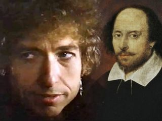 Bob Dylan compares himself to Shakespeare