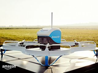 UK allows Amazon PrimeAir's first drone delivery