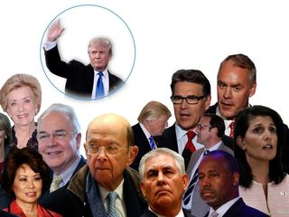 Trump's cabinet might be bad for climate change