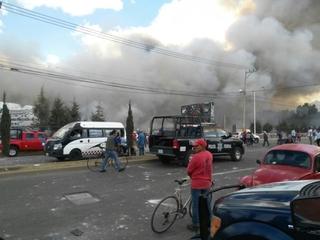 Explosion at fireworks market kills at least 29