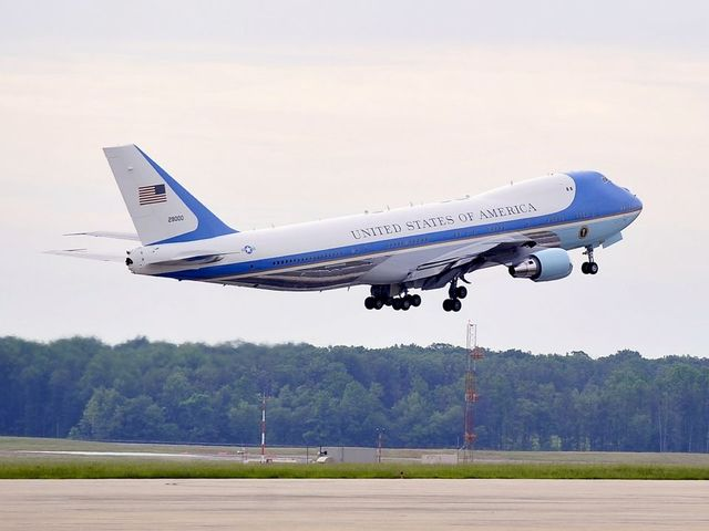 Trump's Air Force One plane could have 'caught fire'
