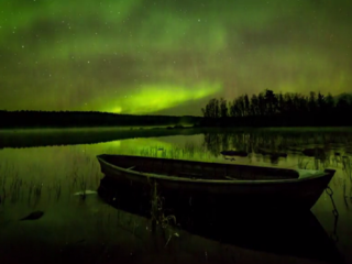 Time-lapse shows magnificence of Northern Lights