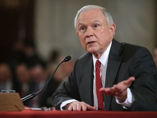 Sessions discusses federal pot guidelines
