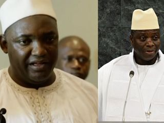 Gambia's president refusing to step down