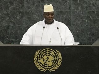 Former Gambian leader to honor election results