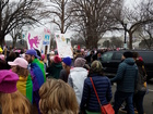 Women march in DC protest