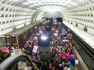 Photos: Women's march in Washington DC