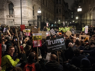 Trump's immigration ban goes to UK Parliament