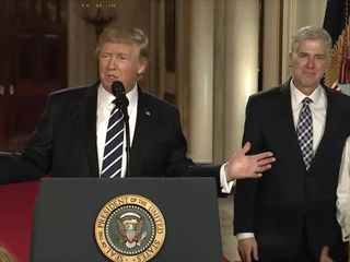Reactions to Gorsuch's SCOTUS nomination