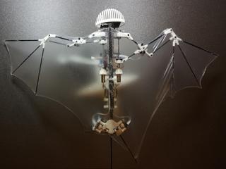 Bat robot is a highly maneuverable flyer