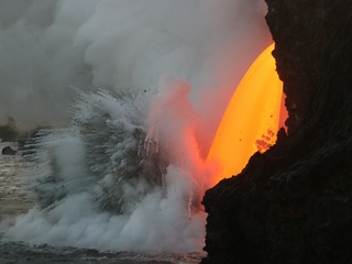 Hawaii volcano is spewing a ton of lava