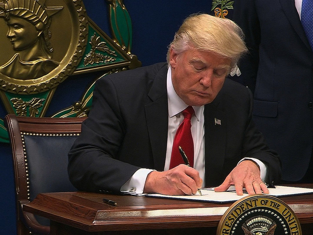 Grading President Trump-s first two weeks