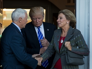 Betsy DeVos confirmed as education secretary