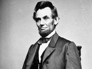 Trump honors Lincoln with fake quote
