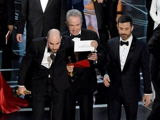 'La La Land' mistakenly crowned winner at Oscars