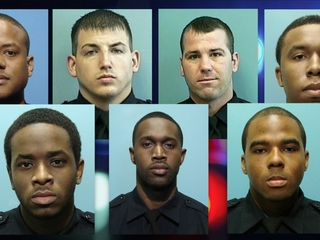 Baltimore police arrest 7 of their own