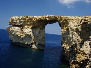 Malta's Azure Window collapsed into the sea