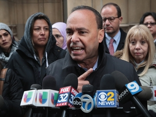 Rep. Luis Gutierrez cuffed at sit-in