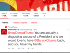 McDonald's takes shot at Trump on Twitter