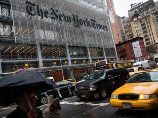 New York Times corrects Trump's tweet