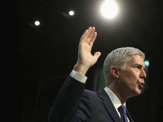 Gorsuch takes oaths, joins US Supreme Court