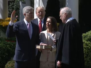 Neil Gorsuch sworn in as SCOTUS justice