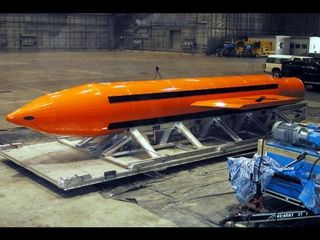 US drops non-nuclear 'mother of all bombs'