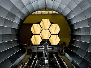 How does NASA transport a $9 billion telescope?
