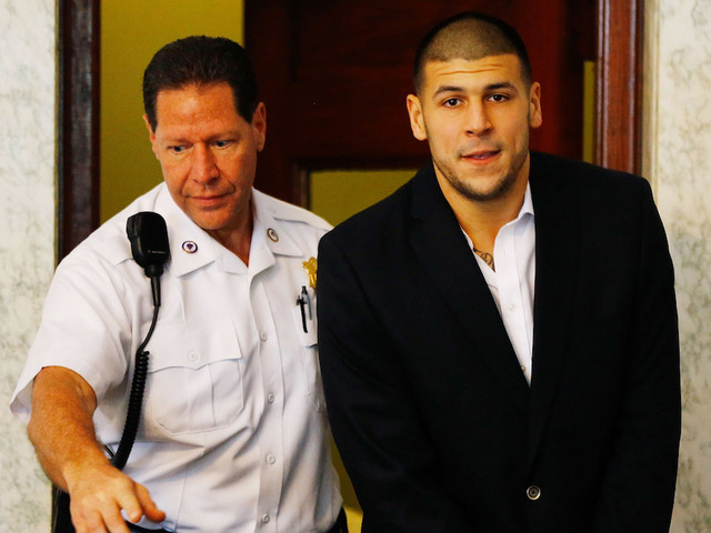 Former NFL player Aaron Hernandez hangs self in MA  prison cell