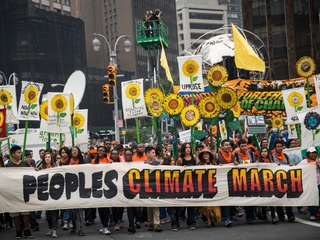 What is the People's Climate March?