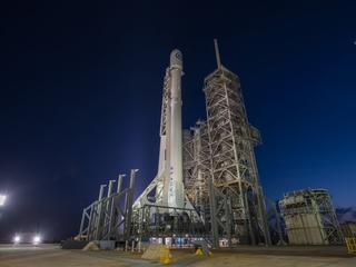 SpaceX launches top-secret spy satellite