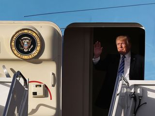 Trump security costs change based on location