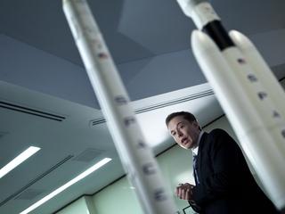 SpaceX tests its biggest rocket yet