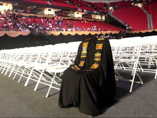 Slain student honored at Bowie State graduation