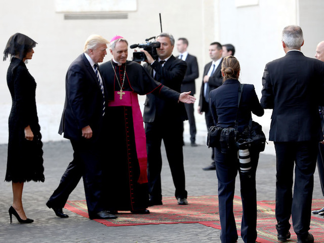 Pope gifts Trump texts on peace, environmentalism