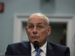 John Kelly calls leaking 'borderline' treason