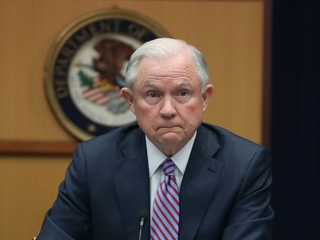 Sessions heatedly denies improper Russia contact