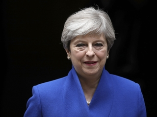 May says she's forming a minority government